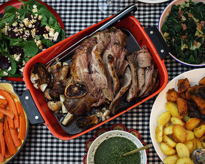 Roast lamb ALDI - mypoppet.com.au