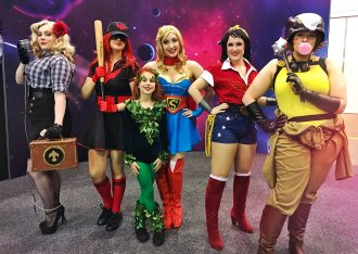 Melbourne Comic-Con dc bombshells Cosplay - mypoppet.com.au