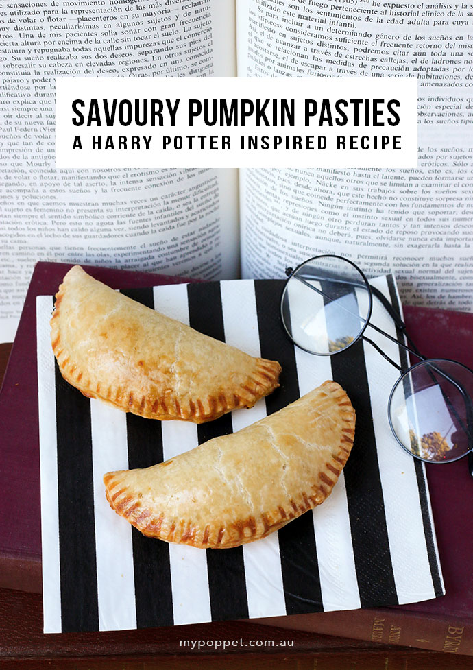 Harry Potter Savoury Pumpkin Pastie Recipe - mypoppet.com.au