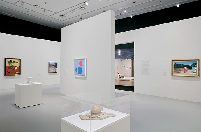 Exhibition image of MoMA at NGV: 130 Years of Modern and Contemporary Art, 2018 on display at NGV International from 9 June – 7 October Photo: Tom Ross