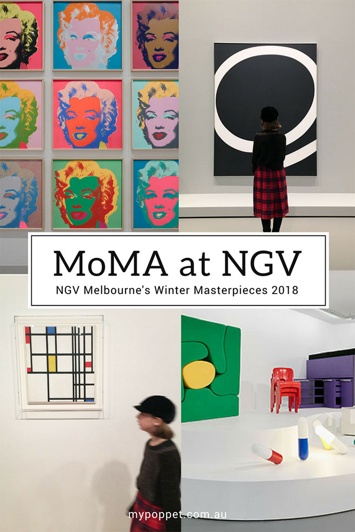 MoMA at NGV: 130 Years of Modern and Contemporary Art - Melbourne Australia mypoppet.com.au