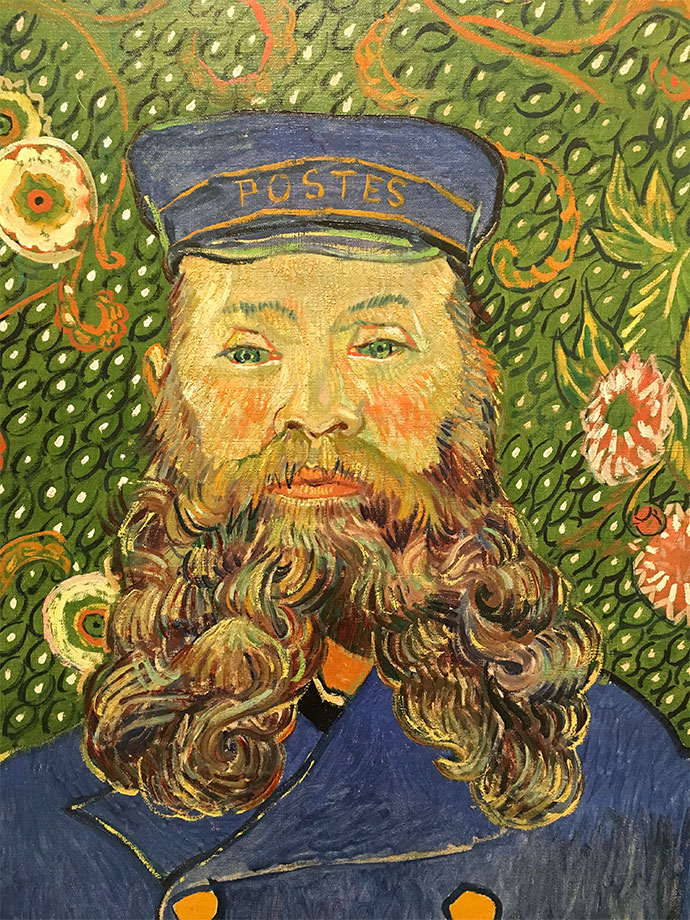 Vincent van Gogh Dutch 1853–90 Portrait of Joseph Roulin 1889