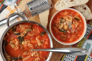 Beat the Winter Chill – Family Favourite Minestrone Soup