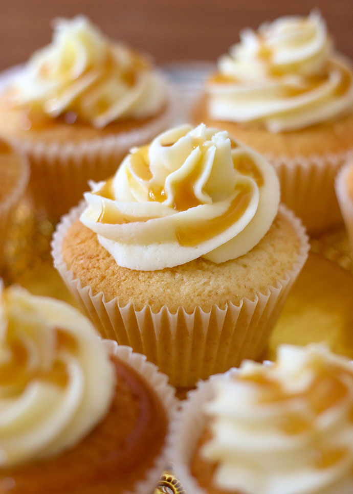 Butterbeer cupcakes recipe - mypoppet.com.au