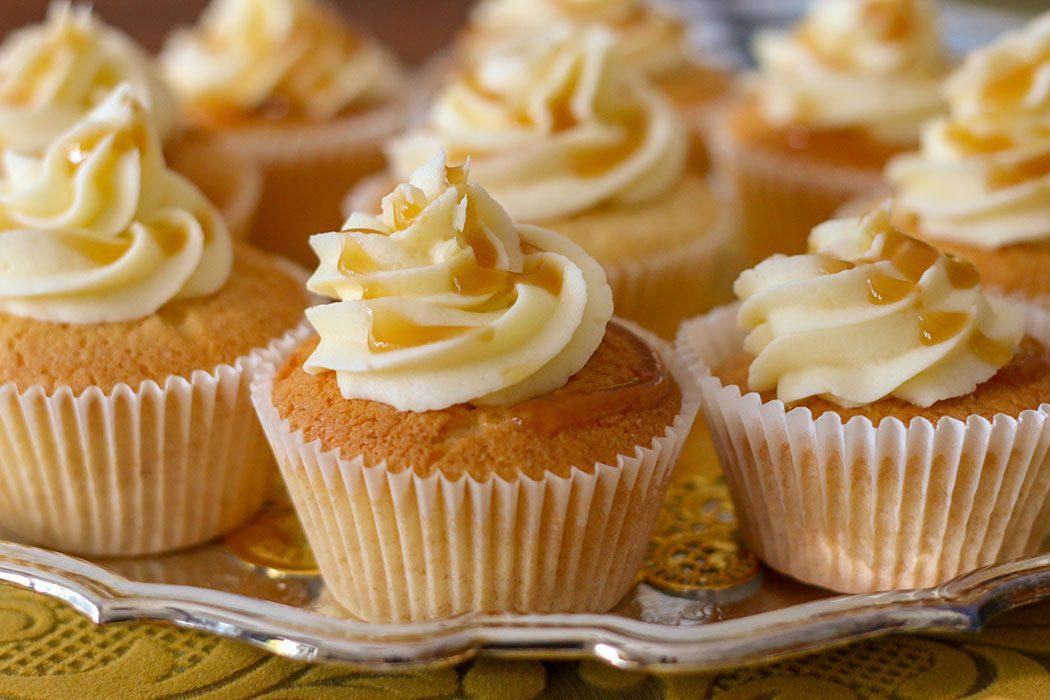 Harry Potter Butterbeer Cupcake Recipe - mypoppet.com.au