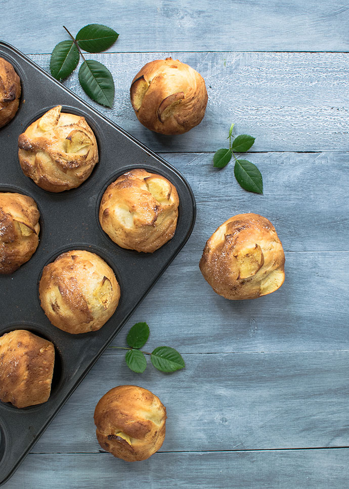 Vanilla Pear Muffin Recipe - mypoppet.com.au