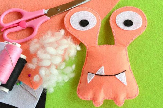 Sew a Softie School Holiday Activity