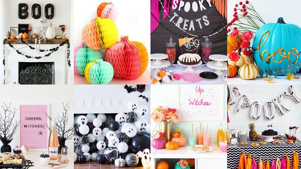 Modern Halloween Party Decor ideas - mypoppet.com.au