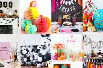 Modern Halloween Party Decor ideas - mypoppet.com.au
