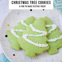 Christmas Tree Cookies - A Fun & Festive Biscuit Recipe