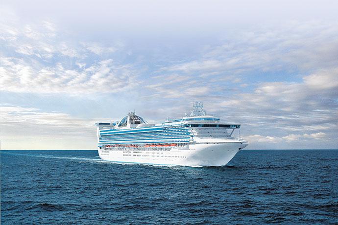 Golden Princess - New zealand family cruise