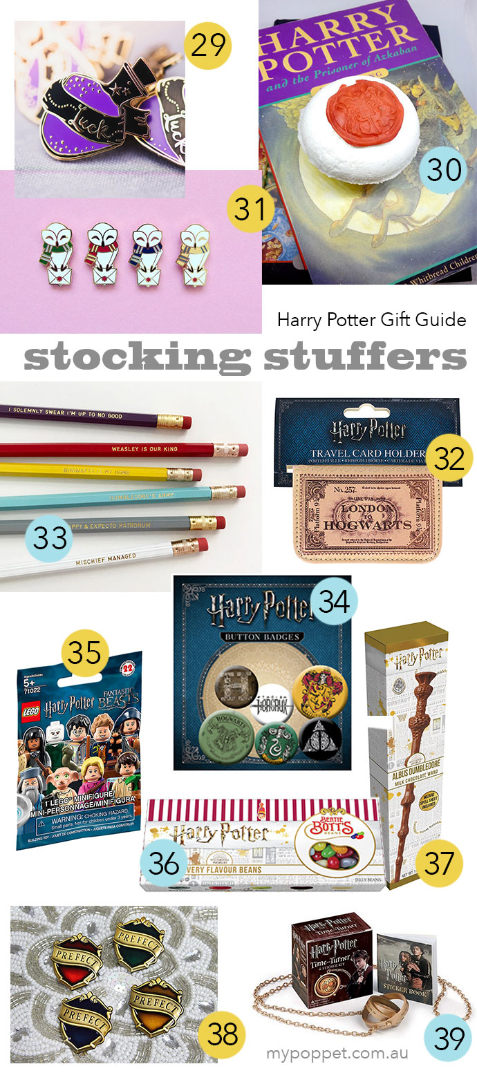 The Ultimate Harry Potter Gift Guide under $15 - mypoppet.com.au