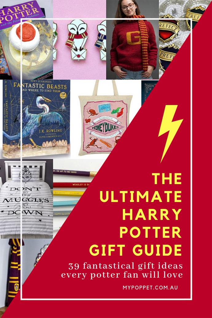 Harry Potter Gift Guide - mypoppet.com.au