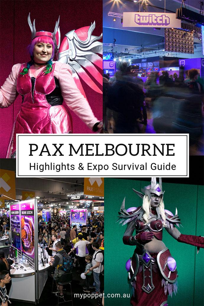 Pax Melbourne 2018 - mypoppet.com.au