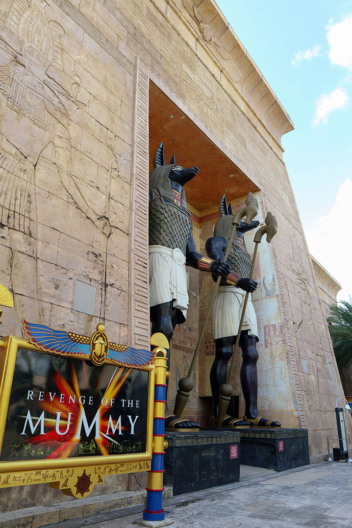 Revenge of the Mummy ride Family travel guide Universal Studios Singapore (Ancient Egypt)- mypoppet.com.au