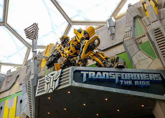 Transformers the ride - Family travel guide Universal Studios Singapore - mypoppet.com.au