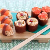 Puffed Rice Candy Sushi