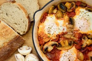 Mushroom Shakshuka – An Easy One Pan Meal