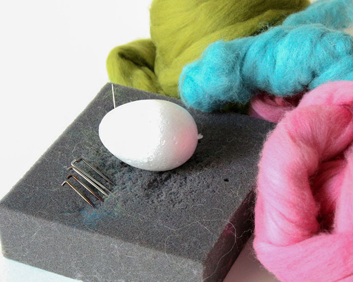 Needle Felting Easter Egg Supplies - mypoppet.com.au