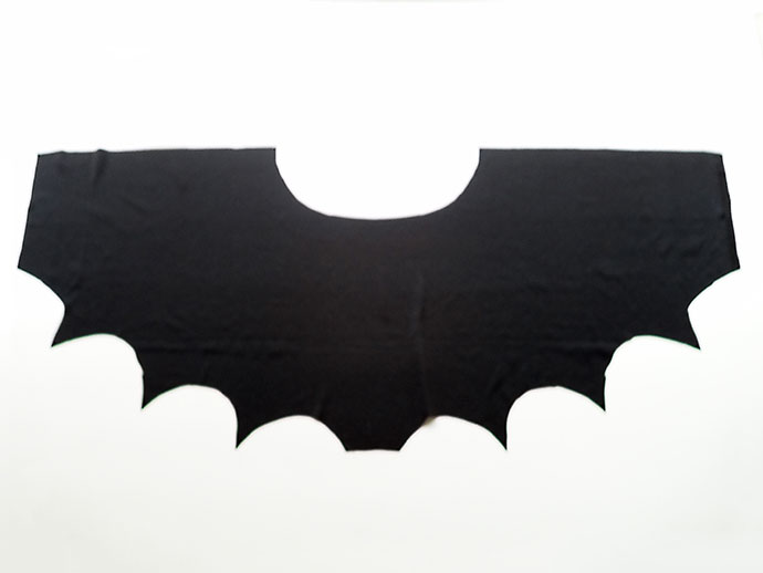 How to make Bat WIngs Halloween Costume - mypoppet.com.au