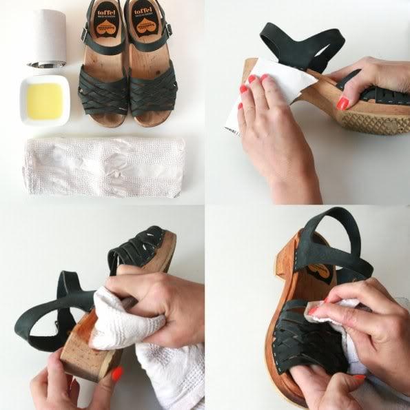 How to care for wooden clogs - Clog maintenance - mypoppet.com.au