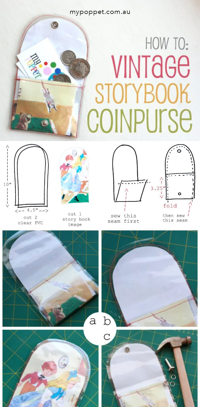 DIY coin purse pinterest