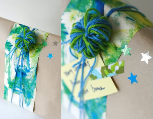 Easy Gift Wrapping Ideas - mypoppet.com.au