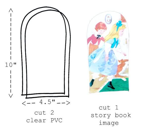 Storybook Coin Purse - DIY PVC purse - mypoppet.com.au