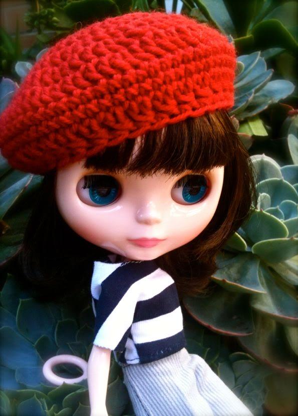 blythe doll hat crochet pattern
