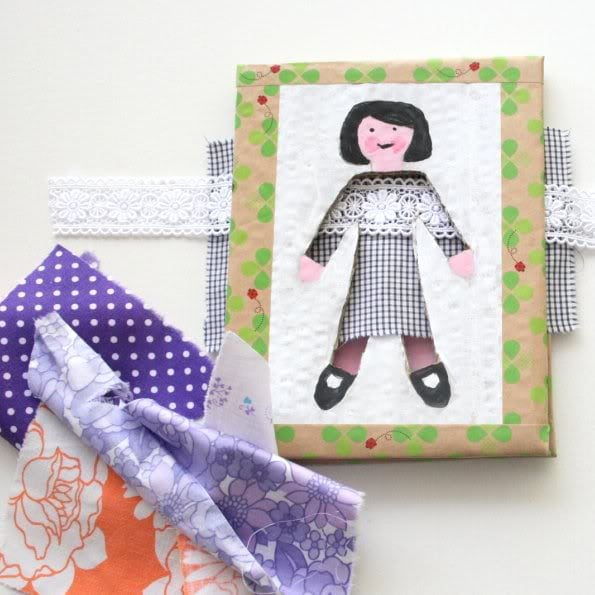 How to make a cardboard dressing girl game mypoppet.com.au