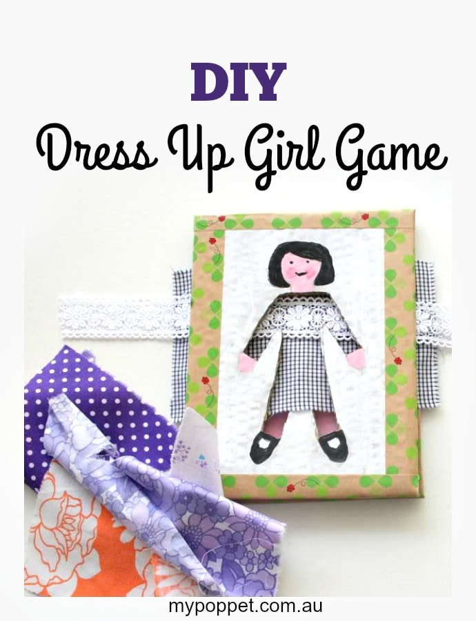 DIY Dress up girl game mypoppet.com.au