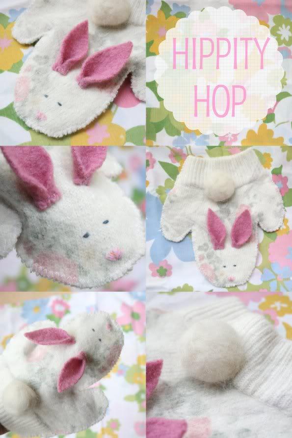 How to make a bunny handpuppet - mypoppet.com.au