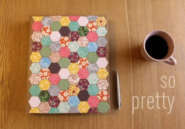 Mod Podge Hexagon Folder - mypoppet.com.au