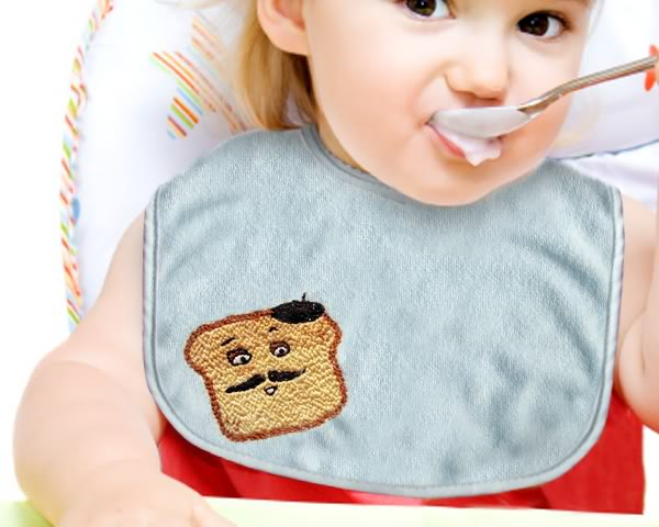 french toast embroidery pattern