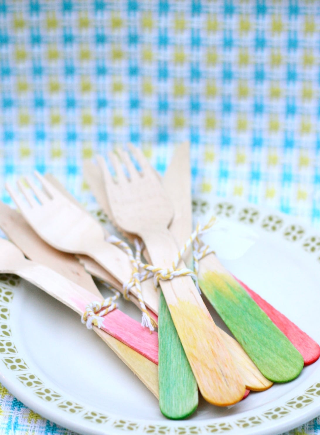 dip dye cutlery