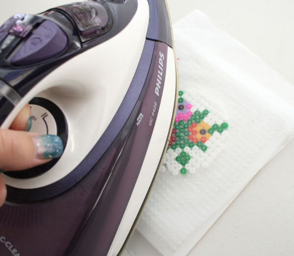 How to iron hama beads