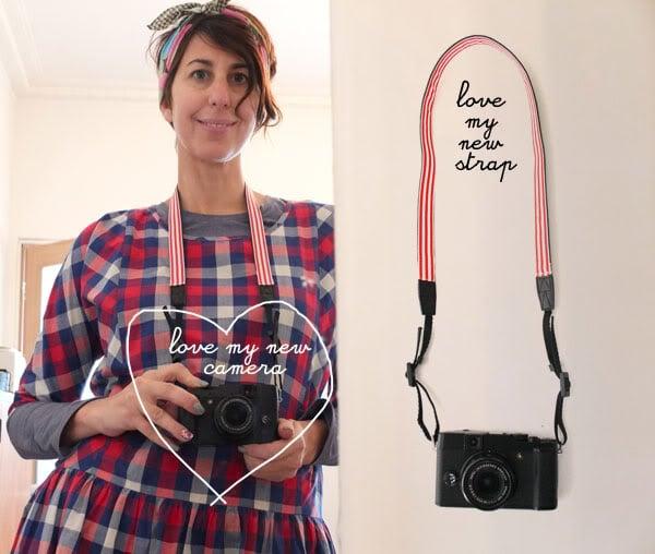 Camera strap makeover - mypoppet.com.au