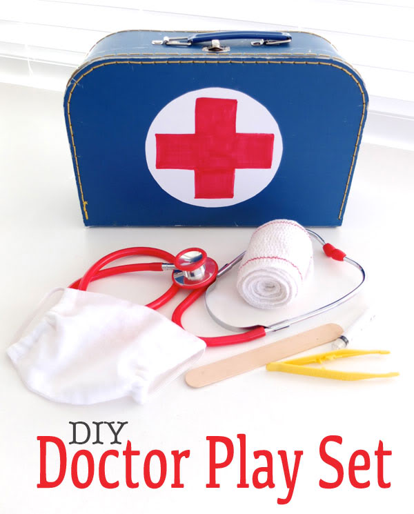 DIY Doctor Play set -mypoppet.com.au