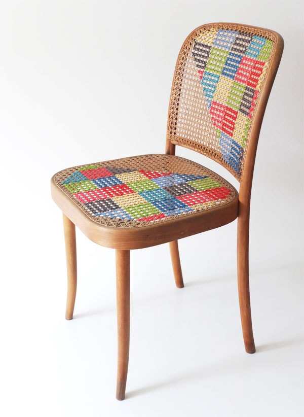 cross stitch chair mypoppet.com.au