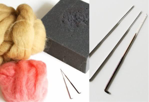 Needle Felting tools