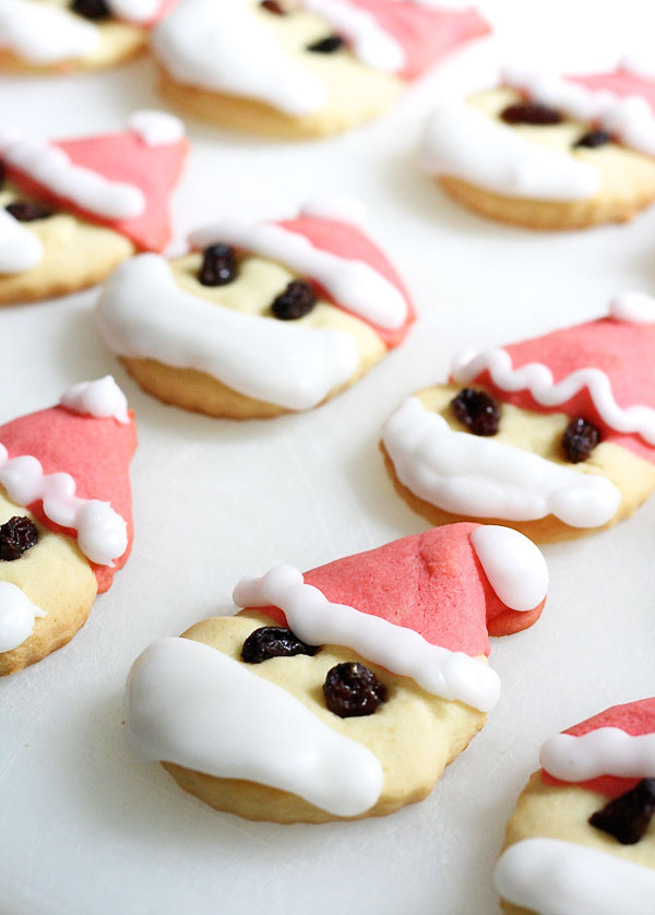 bake christmas biscuits cookies santa