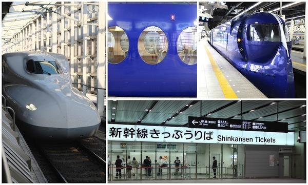 shinkansen Osaka Japan