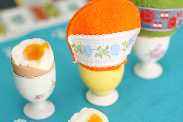 Felt Egg Cozy Pattern and instructions