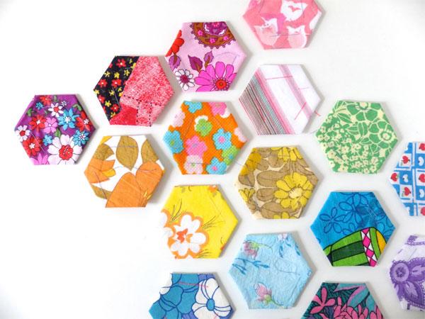 Hexagon rainbow mypoppet.com.au
