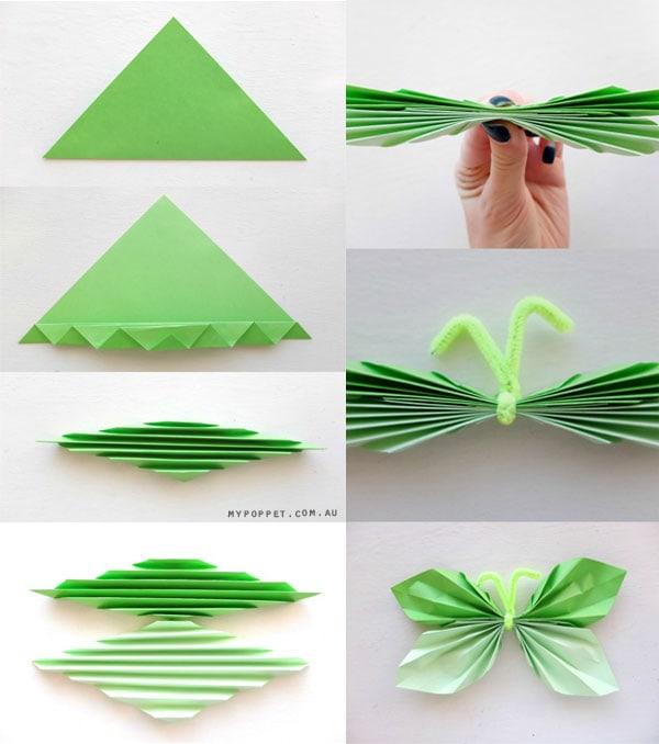 Поделки из бумаги бабочек своими руками