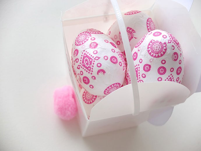 Easter Craft - Printable Easter Bunny Takeout box - mypoppet.com.au