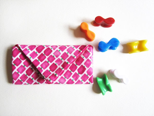 Jacks pouch DIY finished - childrens sewing pattern mypoppet.com.au