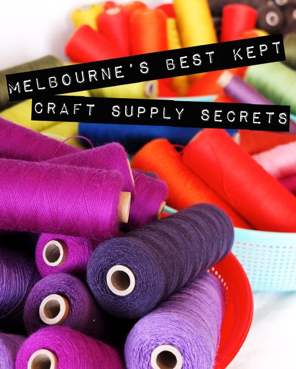 Melbourne's best kept craft supply secrets