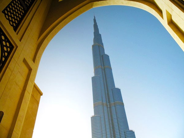 tallest building in the world - dubai