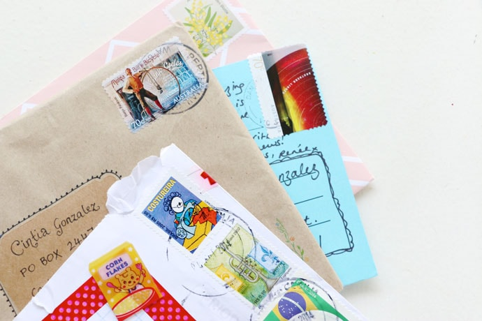 Tips for removing old stamps from envelopes
